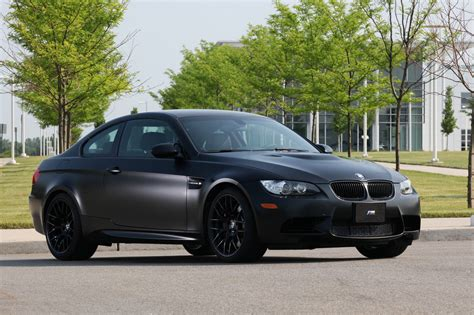 bmw black 2011 bmw m3 frozen black edition hits the u s only 20
