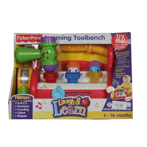 fisher price tool bench fisher price laugh learn learning toolbench