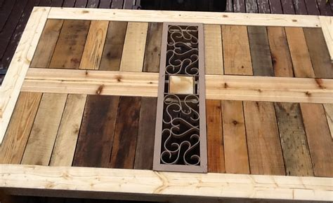 Patio Table Diy Wood White Modified Outdoor Pallet Patio Table Diy Projects