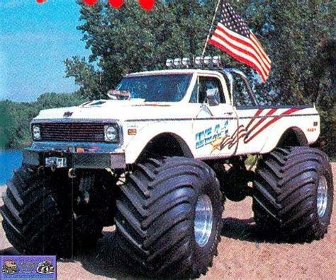 old monster truck videos love the old monster trucks lets ride pinterest