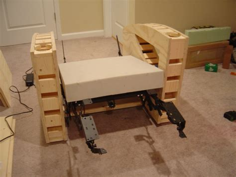 build a recliner edu how to make your own theater chairs recliners