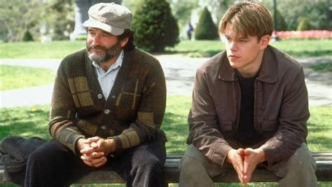 good will hunting park bench scene robin williams makeshift memorial spotted at quot good will