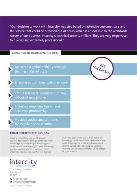 intercity mobile pillsbury and intercity mobile study v2