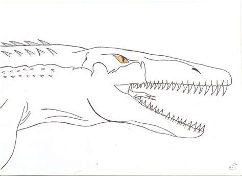 Jurassic World   Mosasaurus (Tylosaurus) by Tyrannuss555