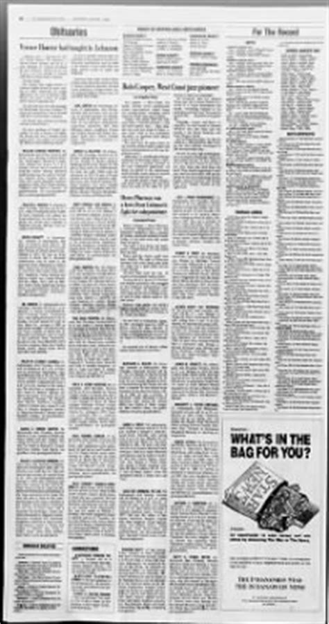 Marion County Divorce Records Indianapolis The Indianapolis From Indianapolis Indiana On August 7 1993 183 Page 46