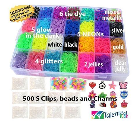 Loom Bands Refill new rainbow loom kit rubber band refill colors bands