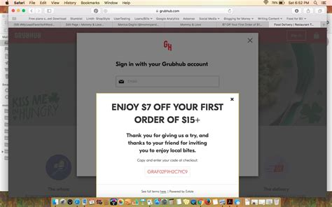 Grubhub Gift Card Code - grubhub first order coupon code mega deals and coupons