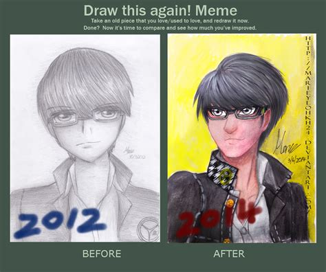 Yu Meme - yu narukami meme before after by marieyeohkh24 on deviantart