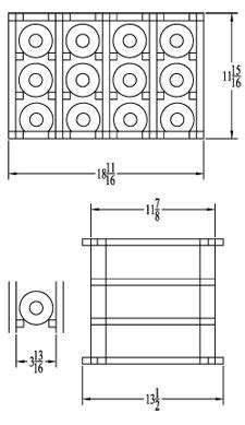 wine rack dimensions standard - Google Search   reference