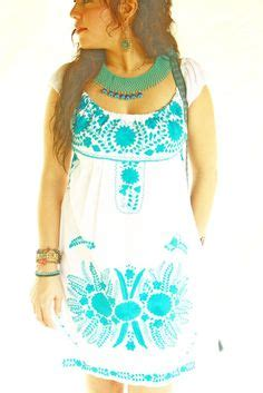 Maxi Aida Blue Denim 1000 ideas about mexican embroidered dress on