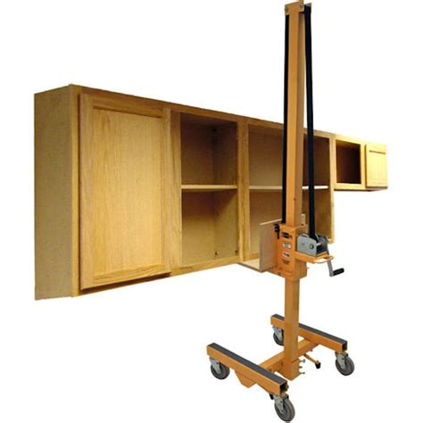 kitchen cabinet lift cabinetizer cabinet installation lift by telpro