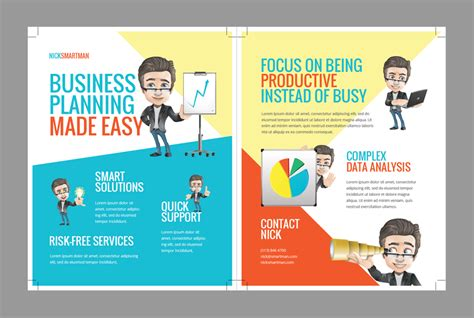 tutorial design flyer how to create a cartoon flyer template for your business