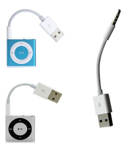 charger for ipod 4th generation charger data sync cable usb cord for apple ipod shuffle