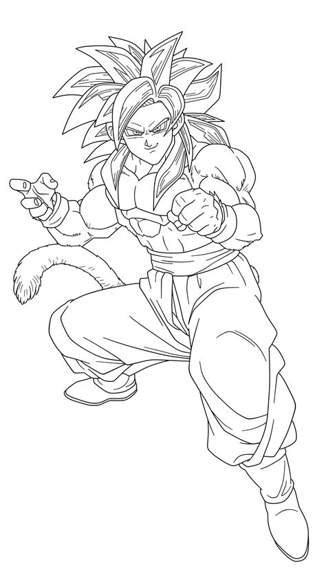 goku ss4 coloring pages dragon ball z ss4 coloring pages az coloring pages