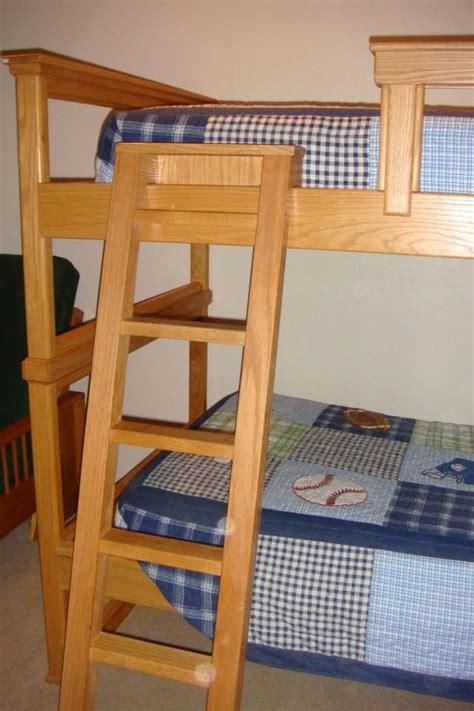 Wooden Bunk Bed Ladder by Wood Bunk Bed Ladder Plans Jpg 640 215 960 Cer Ladder