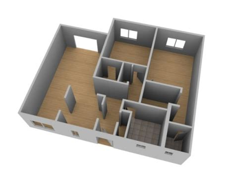 create 3d floor plan create a 3d floor plan model from an architectural