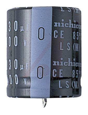 nichicon ls capacitor lls2g221melb nichicon aluminium electrolytic capacitor 220μf 400v dc 30mm through jis c