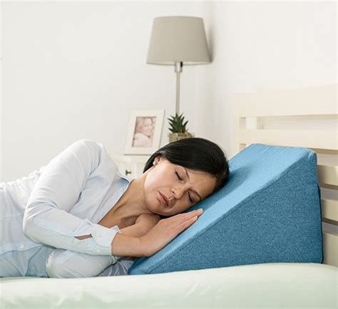 upright pillow for bed ava wool effect bed wedge cushion back rest upright