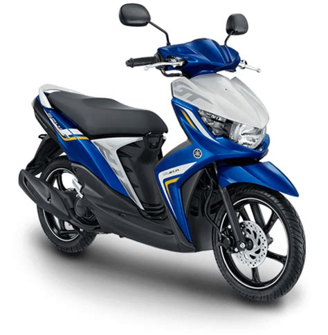 Scoot Biru indonesia gets the new soul gt 125cc scooter from yamaha scooters4sale