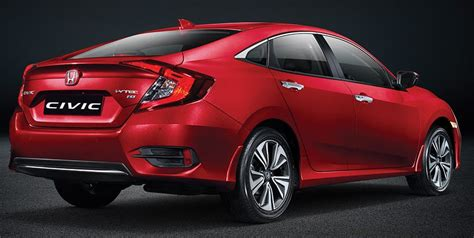 honda civic price list mileage colors  variant wise features