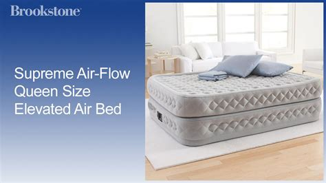 supreme air flow size elevated air bed