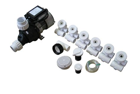 jetted bathtub parts pump plumbing jetted tub assembly kit