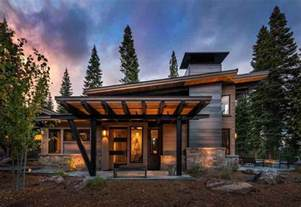 Modern Cabin House Plans Decoration Modern House Design Modern Rustic Home Design Plans