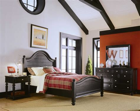 camden bedroom furniture american drew camden dark black bedroom set