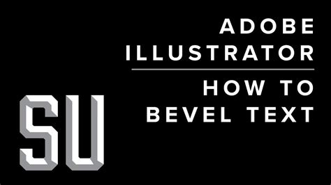 adobe illustrator text pattern how to bevel text in adobe illustrator cc youtube