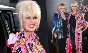 Absolutely Fabulous Fabsugar Want Need 54 by Joanna Lumley And Saunders Look Glamorous At