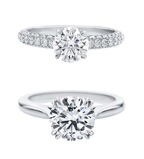 Harry Winston Engagement Ring by Attraction 1 10 Carat Engagement Ring Harry