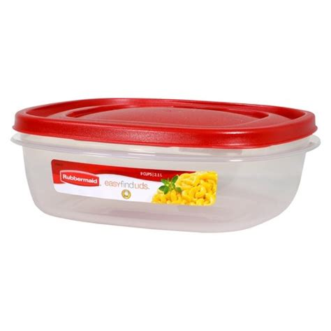 container for food storage rubbermaid easy find lids food storage container target
