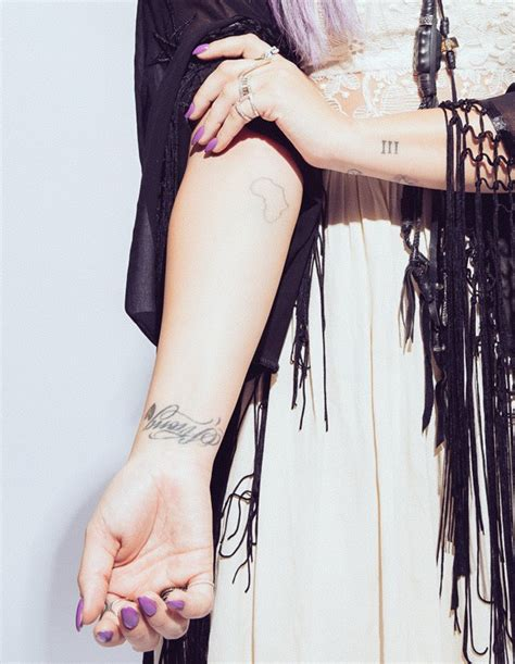 demi lovato tattoo demi lovato explains meaning africa arm in