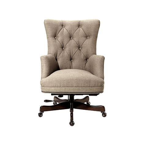 upholstered swivel desk chair upholstered desk chair in cordial riverside belmeade