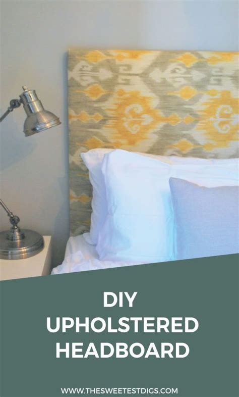 easy fabric headboard 17 best ideas about diy upholstered headboard on pinterest
