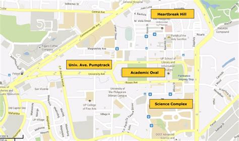 Requirements For Mba Program In Up Diliman by Map Of Up Biking Routes Outsideslacker