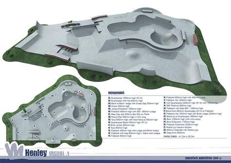 02 Arena Floor Plan henley skatepark project underway after planning