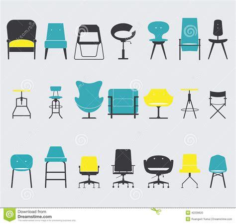 design icon furniture furniture icon in flat design
