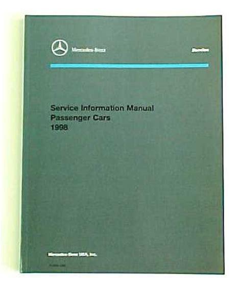 Mercedes Benz Passenger Car Literature