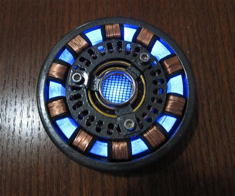 iron man arc reactor video tutorial diy wearable