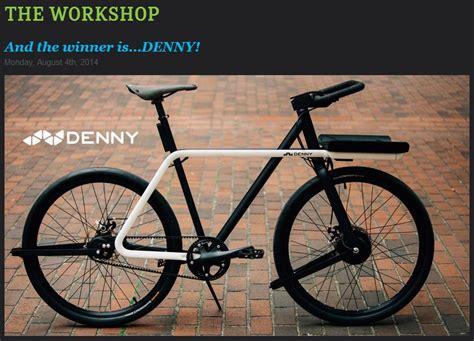 bike design competition winner denny wins bike design contest