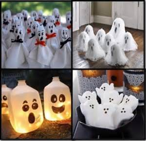 How Make Halloween Decorations How To Make Ghost Decorations For Halloween