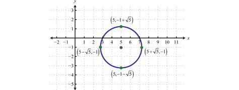 algebra sections 8 2 circles mathematics libretexts
