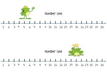 common worksheets 187 printable number line to 20