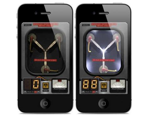 flux capacitor app pocketable back to the future flux capacitor iphone app freshness mag