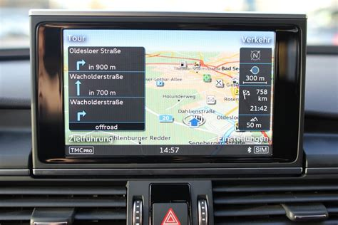 Navigation Plus Audi by Bks Tuning Audi Navigation Plus Retrofit Audi A6 C7 4g