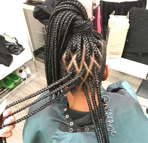 how to part hair for boxed braids love these diamond parts by nisaraye black hair information