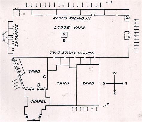 Alamo Floor Plan 1836 by Heritage History Homeschool History Curriculum Boys