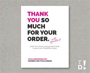 thank you for your purchase email template 41 best images about business thank you cards on