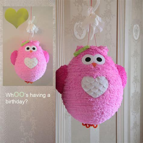 Handmade Pinata - owl pi 241 ata handmade pi 241 atas